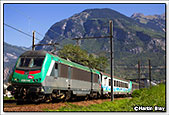 SNCF BB36348, Saint Jean de Maurienne, 3rd September 2014
