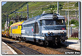 SNCF BB67526+BB67433, Montmelian, 4th September 2014