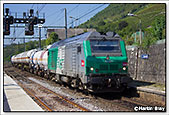 SNCF BB75417, Montmelian, 4th September 2014