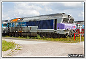 SNCF CC72148, Chalindrey Depot, 5th September 2014
