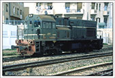 Freight loco at Sousse