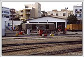 Sousse station yard